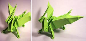 Origami Dragon by Lemonoid