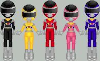 Power Rangers in Space by PRFury