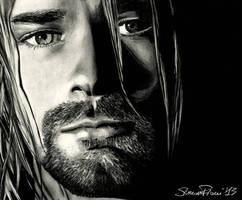 Kurt Cobain by SoulShapedFace