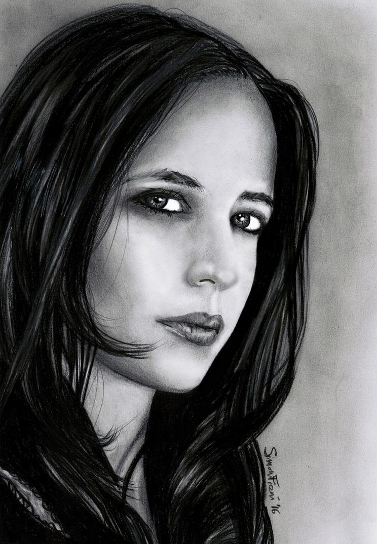 Eva Green by SimoneFiani