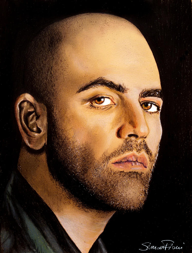 Roberto Saviano by SimoneFiani