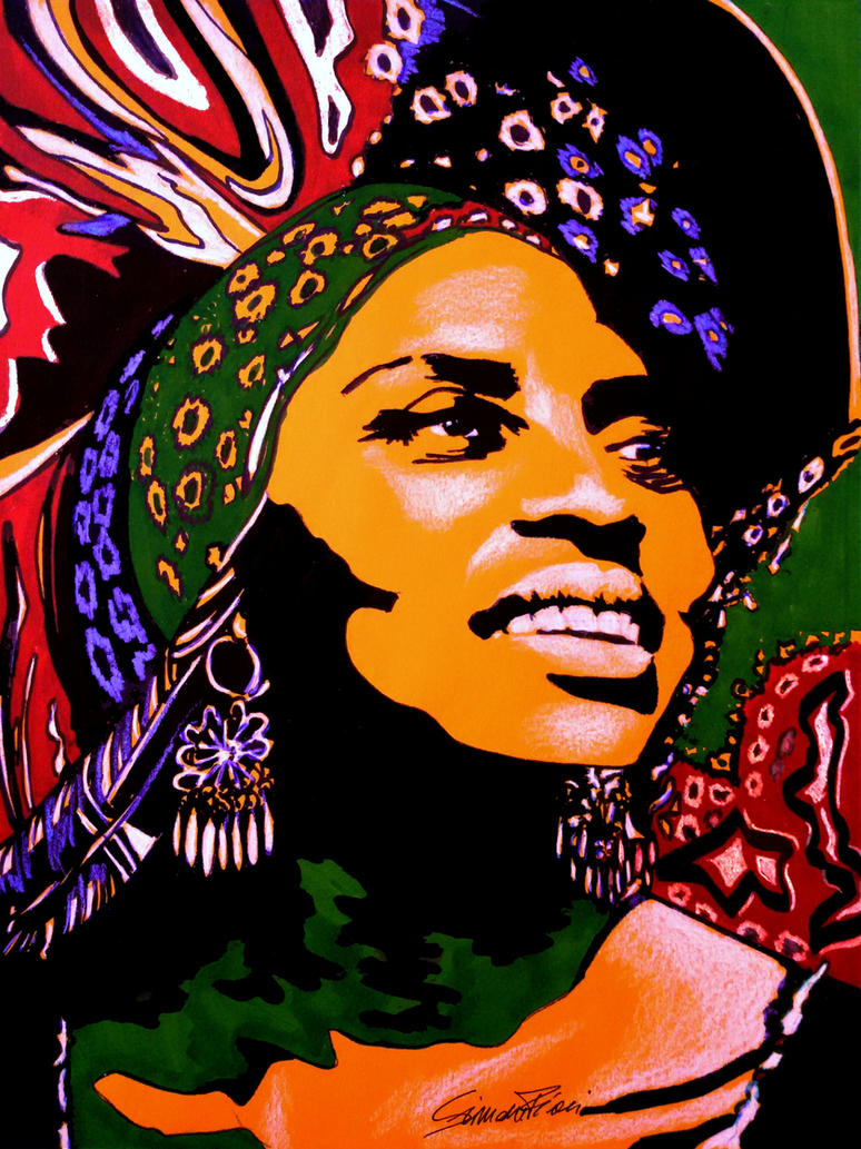 Miriam Makeba by SimoneFiani