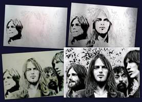 Pink Floyd Backstage by SoulShapedFace