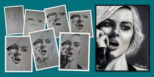 Margot Robbie - Backstage by SoulShapedFace