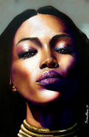 Naomi Campbell by SoulShapedFace