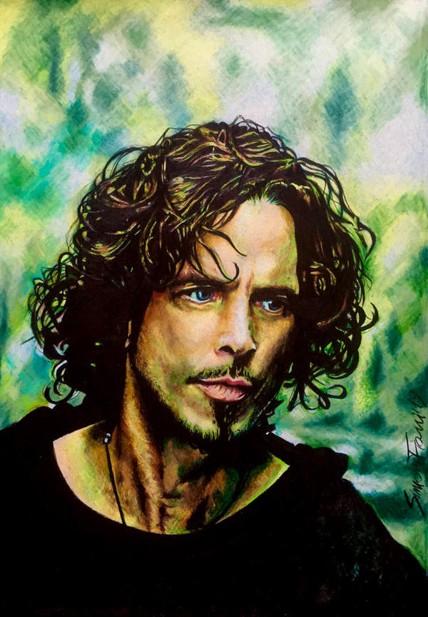 Chris Cornell  by SoulShapedFace
