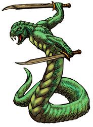 Naga Swordsman