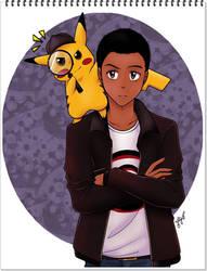 Detetive Pikachu by Miyuki-fanarts