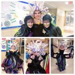 Ursula the Sea Witch with Flotsam and Jetsam by KasiaBartosz