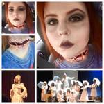 Addams Family musical ancestor makeup by KasiaBartosz