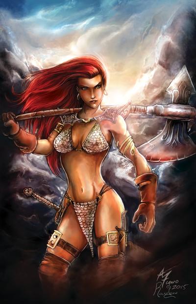 Red Sonja by Ranelynn