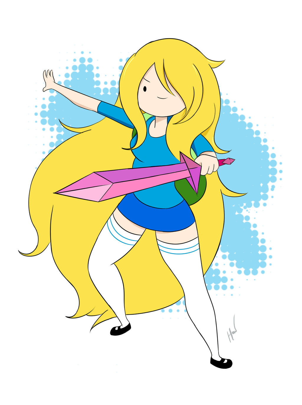 Fionna fanart by Hoho-art