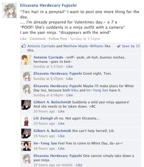 Hetalia Facebook: Yaoi Ninja by gilxoz-epicness on DeviantArt