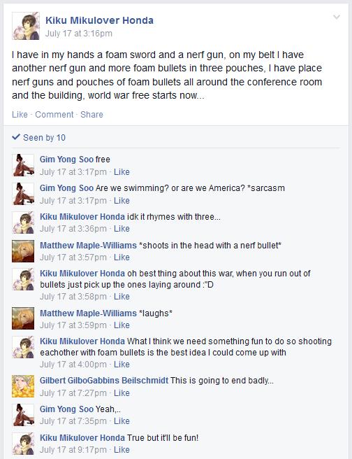 Hetalia Facebook- World War Free by gilxoz-epicness