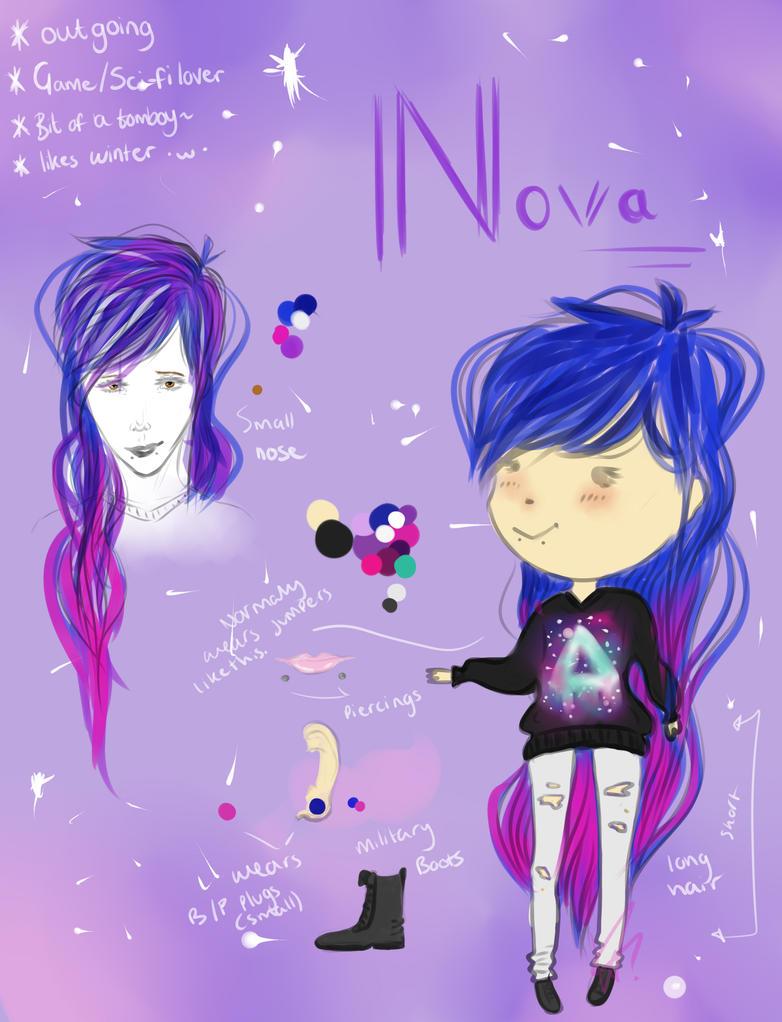 Nova Ref *RP OPEN* by shiningspiritwolf
