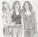 L Word Alice, Dana and Shane