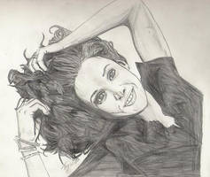 Jennifer Beals sketch by WinstonTA