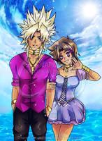 Equilibriumshipping Summer (Gift) by Scarletu-Rozu
