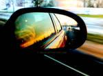 Car Mirror Rainbow
