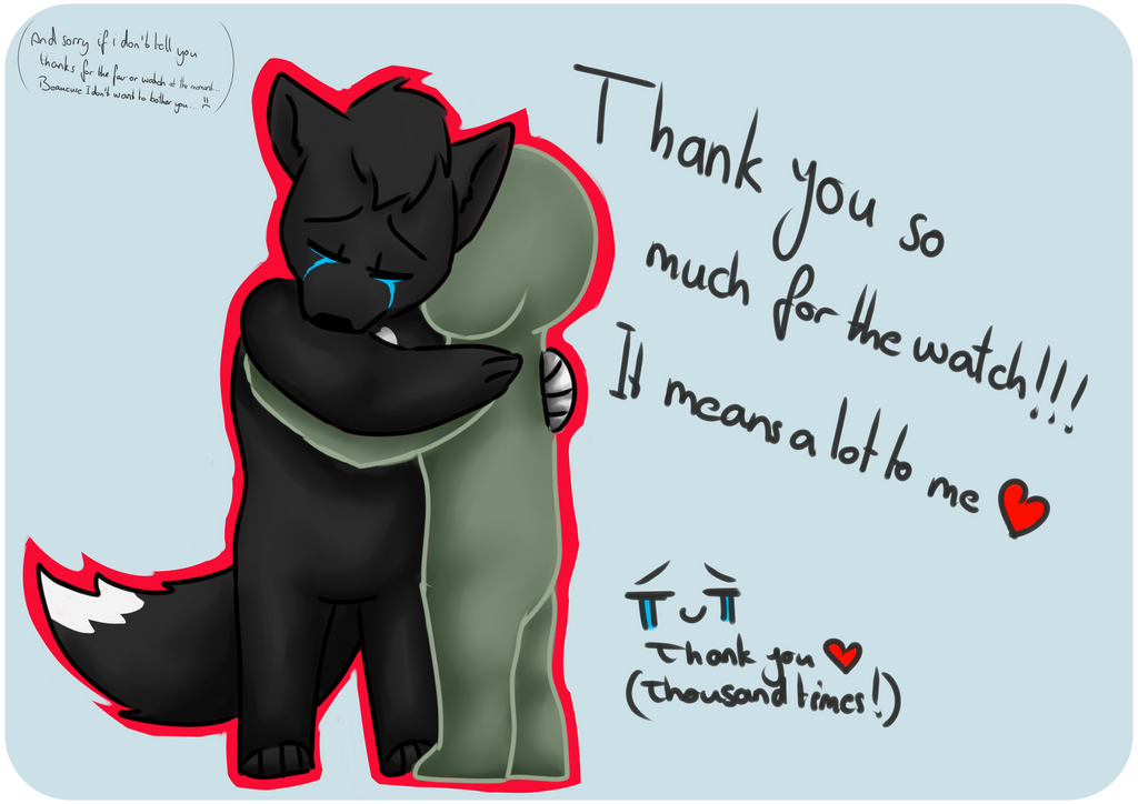 Thank you so much ! by Sleep-Wolf