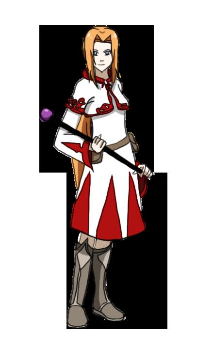 Birthday Gift - Sawaii the White Mage by IgnisSorceress