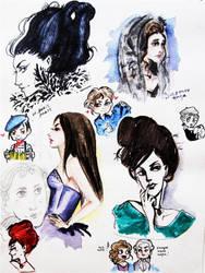 Mozart Sketches