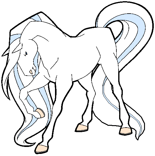 horseland sunburst coloring pages - Horseland Coloring Pages Print