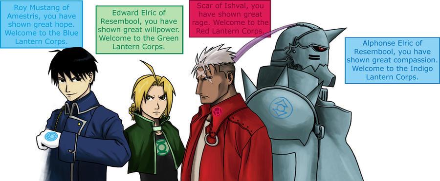 FMA Lantern Corps Part 01 by CrimsonHorror