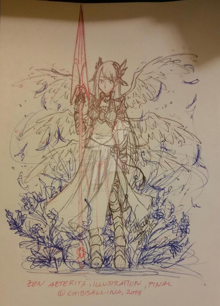 [20150429] Zen Aeterita [TMP, Sketch] by ChibiSalLina