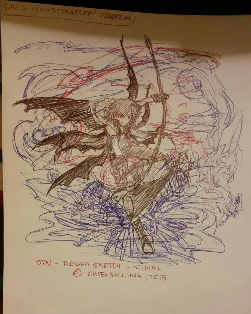 [20150501] Sin Aeterita [TMP, Sketch] by ChibiSalLina