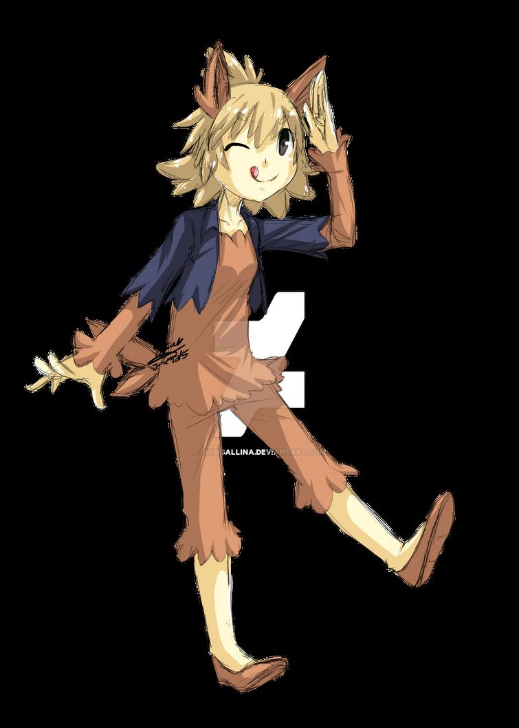[Pokemon] #506 - Lillipup [Gijinka] by ChibiSalLina