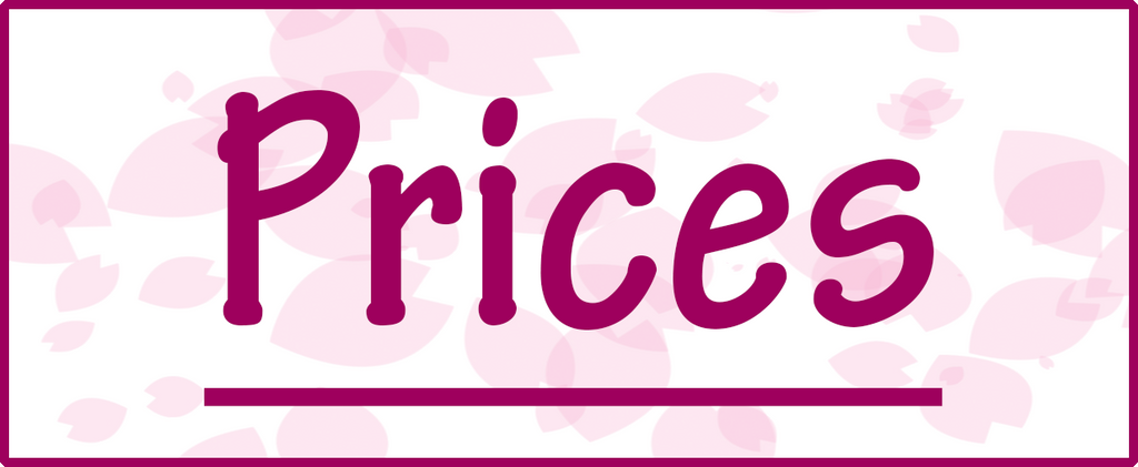 Prices by ChibiSalLina