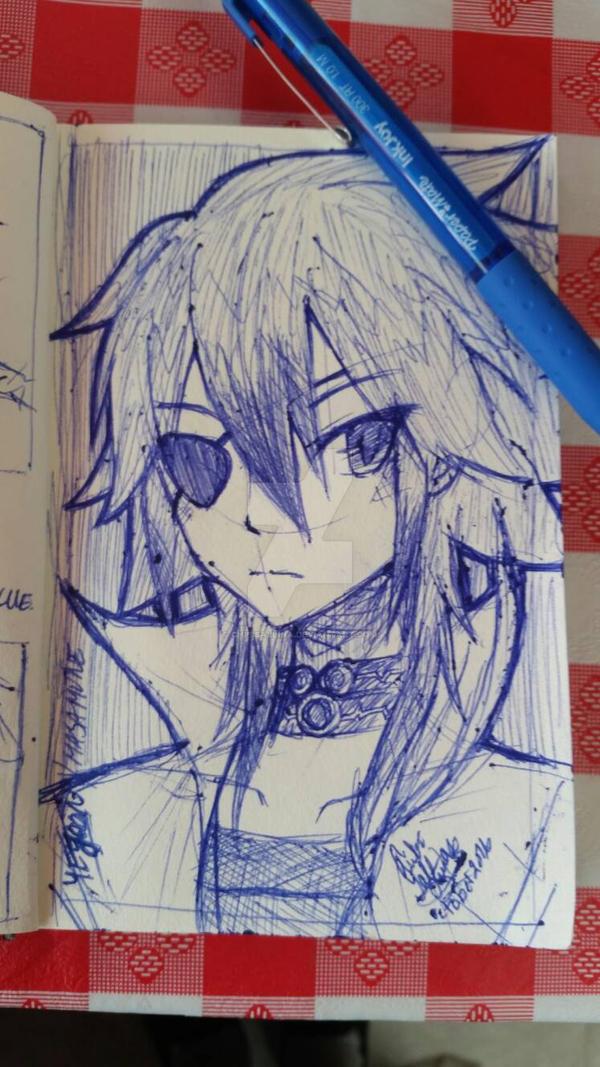 [CLOSERS Online OC] Yejoon Sketch by ChibiSalLina