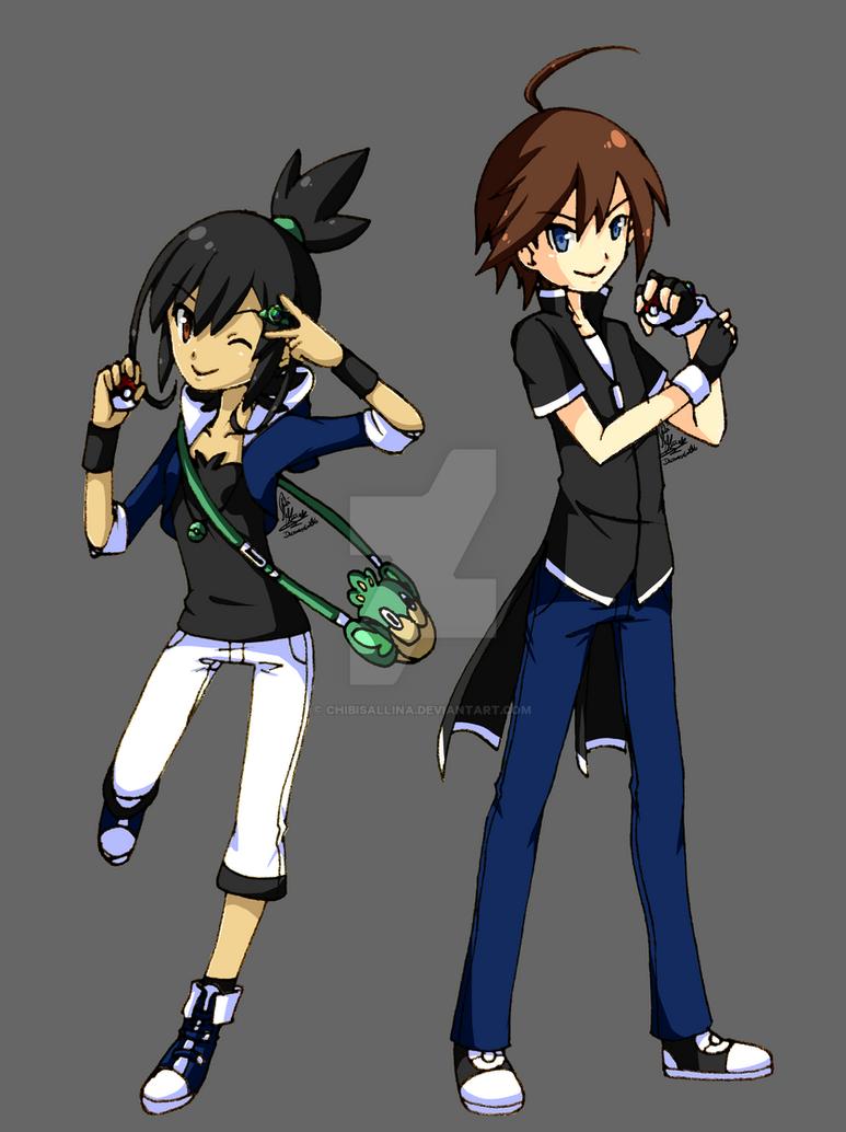 [Pokemon] Trainer OCs [Nicaeah+Segus] by ChibiSalLina