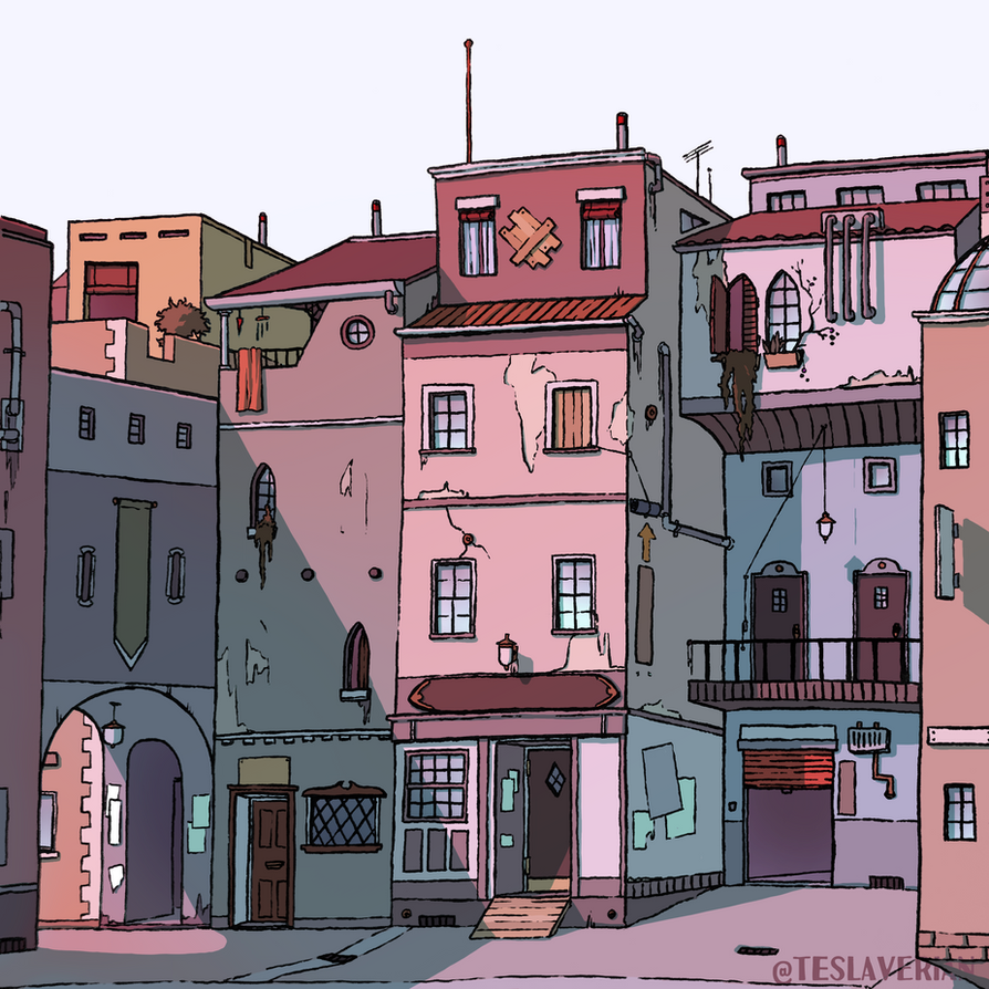 Street Study 1 by Teslaverian