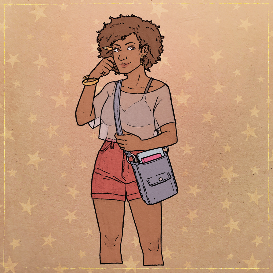 Naomi by Teslaverian
