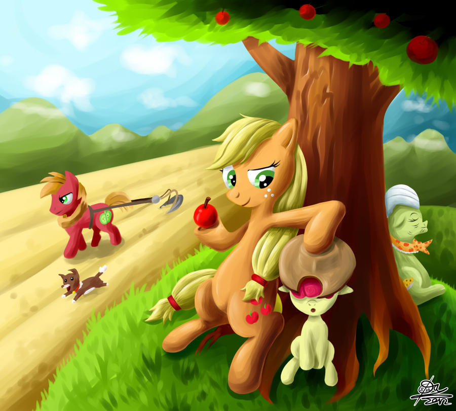 Apple Family by otlstory