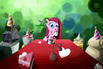 party with pinkamena