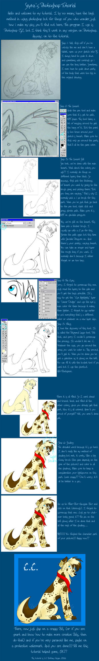 Seyna's Photoshop Tutorial by seynadarkwolf