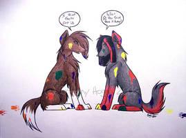 They're Onto Us by seynadarkwolf