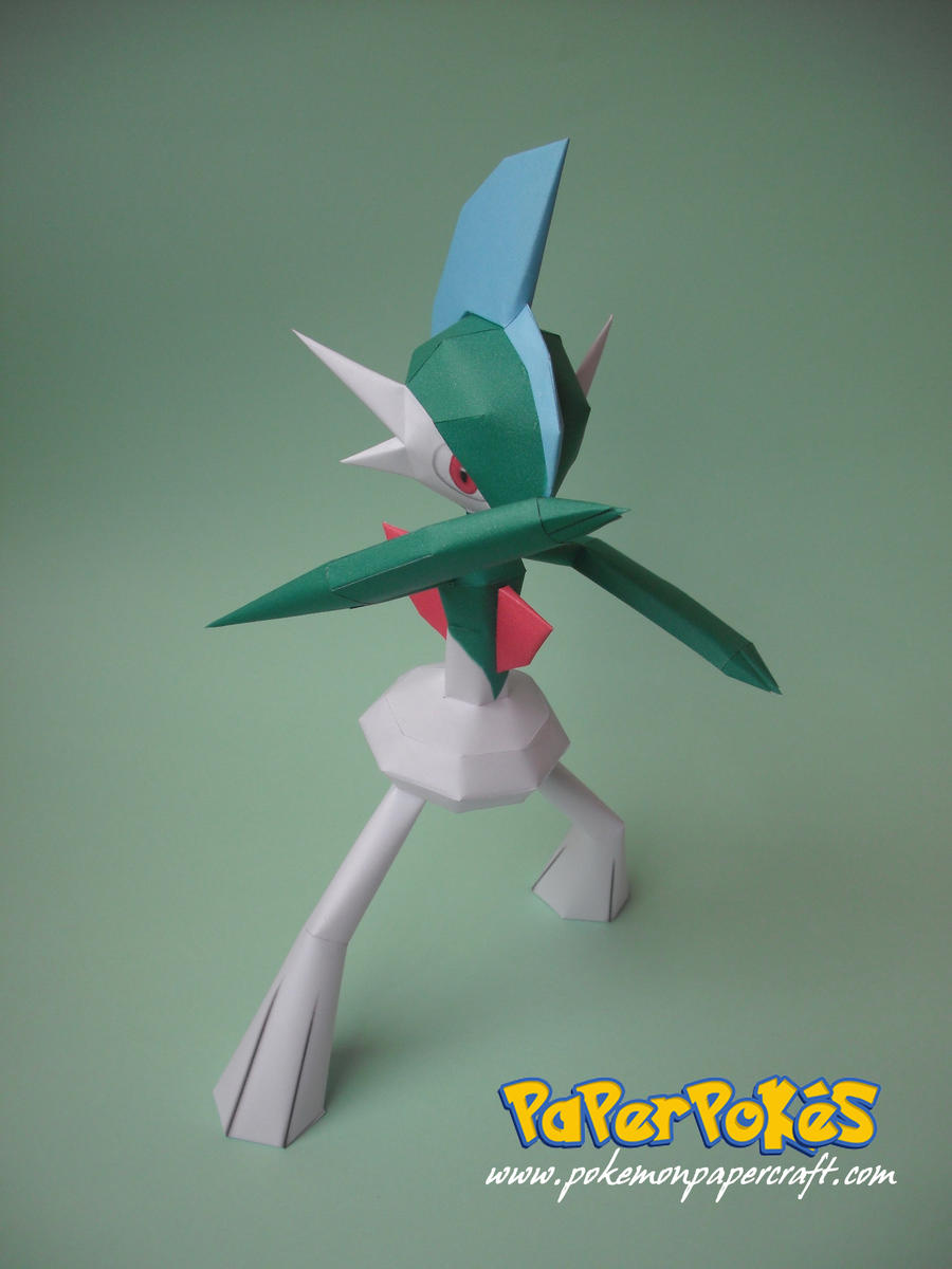 Gallade Papercraft by xDCosmo