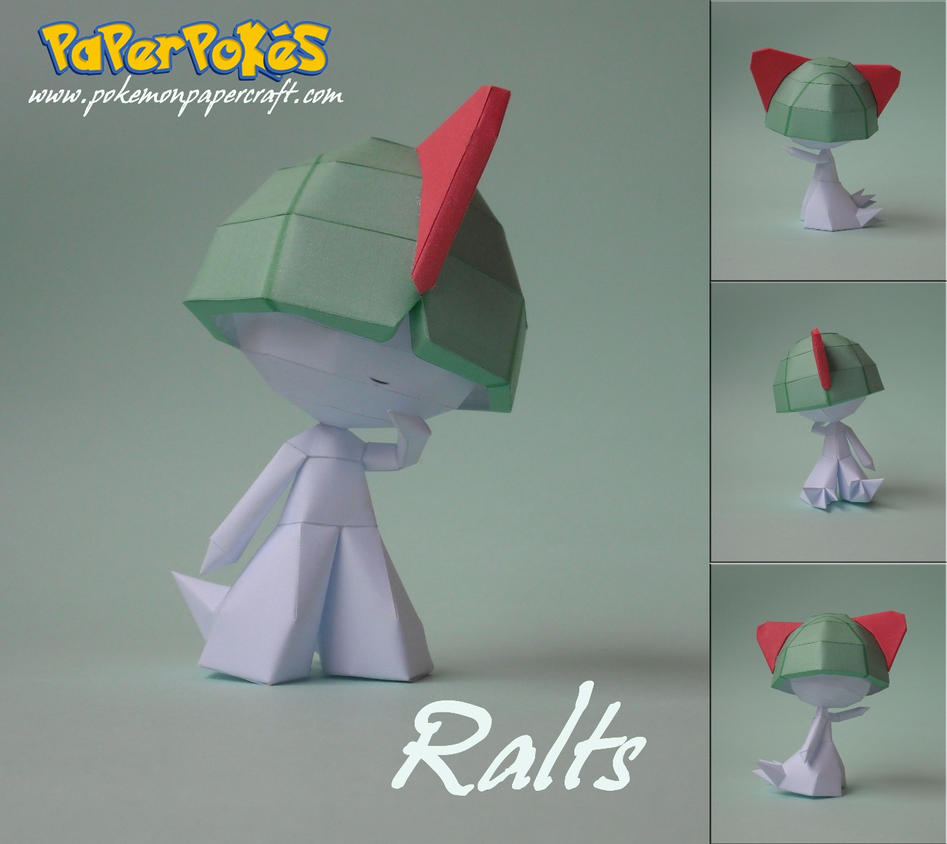 Ralts Papercraft by xDCosmo