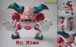 Mr. Mime Papercraft