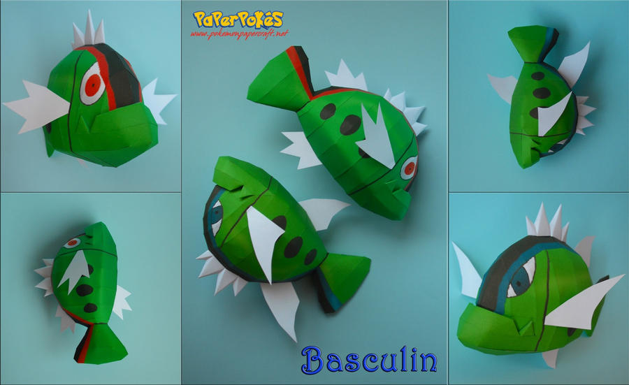 Basculin Papercraft by xDCosmo