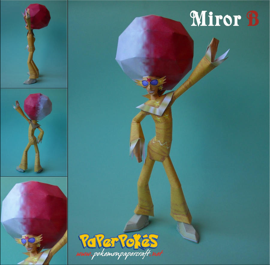 Miror B Papercraft by Olber-Correa