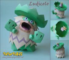 Ludicolo Papercraft by Olber-Correa