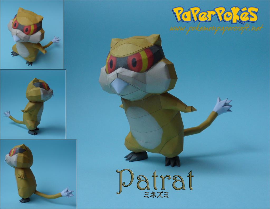 Patrat Papercraft by Olber-Correa