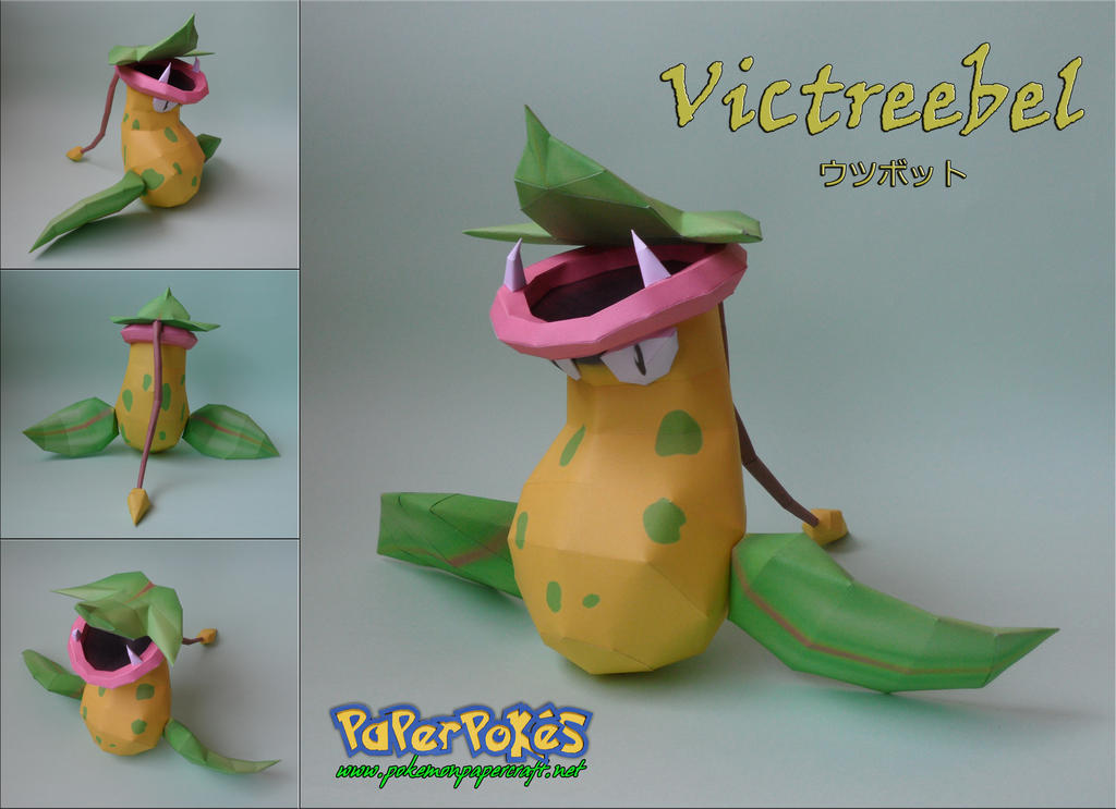 Victreebel Papercraft by xDCosmo