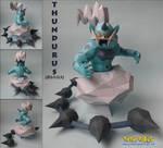Thundurus Papercraft