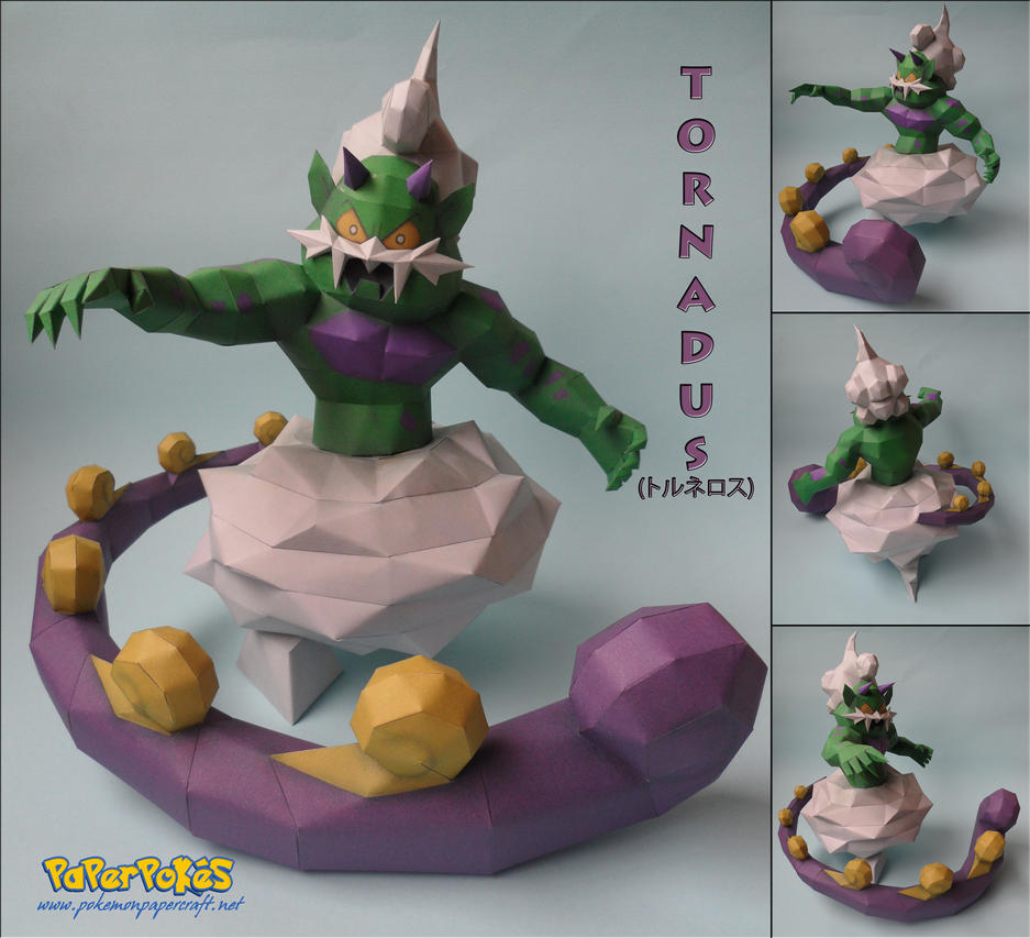 Tornadus Papercraft by xDCosmo